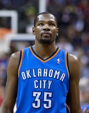 Kevin Durant, who was drafted by the SuperSonics in 2007.