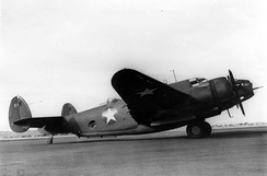 One of 18 USAAF B-37s, 1943.