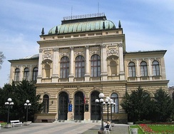 Main building of the Slovenian National Gallery