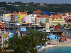 Colorful historic part of Willemstad