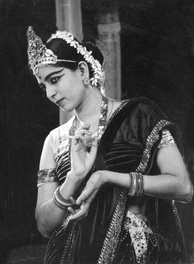 Rukmini Devi Arundale, here in 1940, helped revive Bharatanatyam after Hindu temple dancing was banned by the British colonial government in 1910.