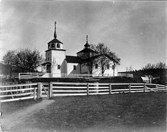 """Russian Church"" photo by John Nathan Cobb, June 1908"