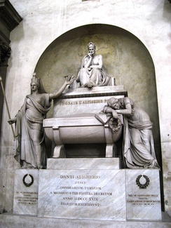 Cenotaph in Basilica of Santa Croce, Florence