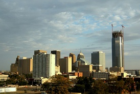 Oklahoma City is the state's capital and largest city.