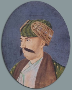 Shuja-ud-Daula served as the leading Grand Vizier of the Mughal Empire during the Third Battle of Panipat, he was also the Nawab of Awadh, and a loyal ally of Shah Alam II throughout his lifetime.