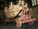 The Car d'Or (Golden Carriage) shown in the collegiate church