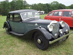 2½-litre Kestrel 1938with the new Big Four engine