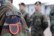 Albanian Army badges