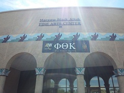 Alkek Fine Arts Center