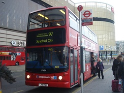 Stratford City bus station