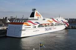 Tallink is the largest passenger shipping company in the Baltic sea region in Northern Europe.