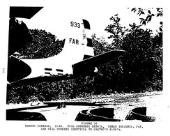 "Douglas A-26 Invader ""B-26"" bomber aircraft disguised as a Cuban model"
