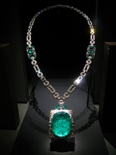 Mackay emerald and diamond necklace, 168 carats Muzo, Colombia, 1931.