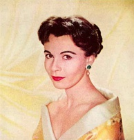 Actress Claire Bloom, in 1958, who was married to Steiger for ten years