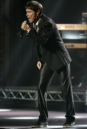 Cliff Richard performing in Sydney, Australia.