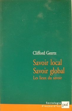"French Edition of Geertz' ""Local Knowledge"""
