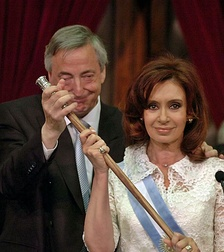 Photograph of Cristina Kirchner.
