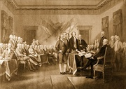 1823 Declaration of Independence (engraving)