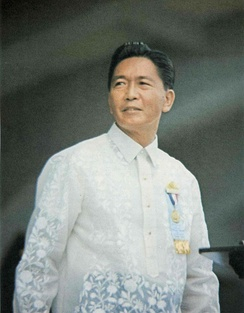 Ferdinand Marcos was the only President to serve three terms (1965–1969, 1969–1981, 1981–1986).