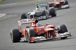 "Fernando Alonso described driving the Ferrari F2012 as ""like walking on a tightrope"".[149]"