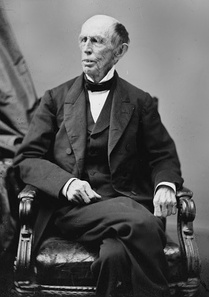 Francis Preston Blair traveled back and forth between Richmond, VA, and Washington, DC, relaying messages between Davis and Lincoln.