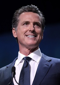Gavin Newsom, the 40th and current Governor of California