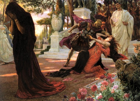 The Death of Messalina by Georges-Antoine Rochegrosse, 1916