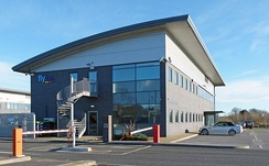 Jack Walker House, Flybe head office at Exeter Airport