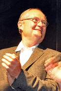 Photo of Jim Broadbent at the Toronto International Film Festival in 2010
