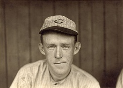 Evers with the Cubs, circa 1910