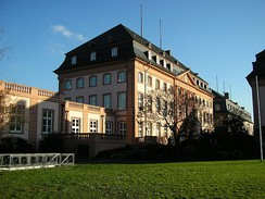 The Deutschhaus, the House of Parliament of Rhineland-Palatinate