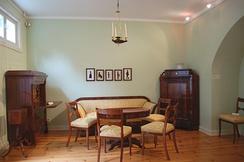 Вишнёвая мебель в стиле бидермейер