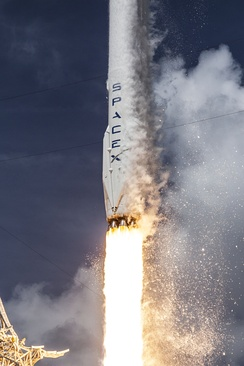 Launch of Falcon 9 carrying ORBCOMM OG2-M1