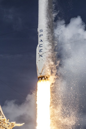 Launch of Falcon 9 carrying ORBCOMM OG2-M1, July 2014