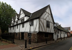 Leicester Guildhall, dating from the 14th century