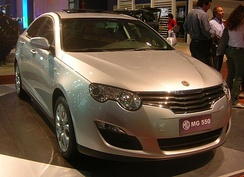 The MG/Roewe 550, which was launched in 2008