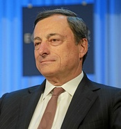 Mario Draghi, the current President of the ECB