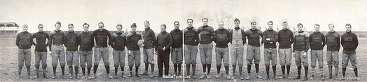 Massillon Tigers line up of 1905.