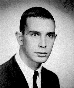 Bloomberg in Johns Hopkins University's 1964 yearbook.