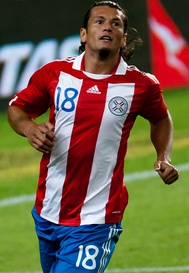 Nelson Haedo played at the 2004 Copa América.