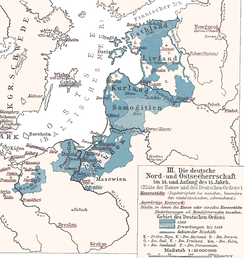 State of the Teutonic Order, c. 1410