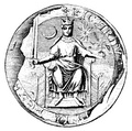 Great Seal of Richard I of England (1198)[33]