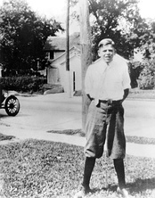 Ronald Reagan in Dixon, 1922