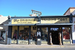 The trading post established in 1603