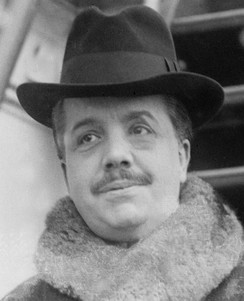 Sergei Diaghilev, founder of the Ballets Russes