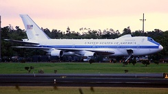USAF E-4B 75-0125 in Hilo, Hawaii, December 2013