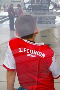 Young Union Berlin supporter