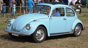 More than 1,000,000 Volkswagen Beetles emerged from the Belgian plant between 1954 and 1975