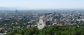 View of Almaty from Kok-Tobe