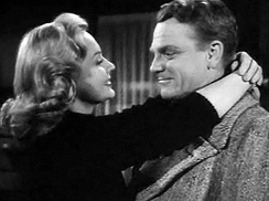 With Virginia Mayo in White Heat (1949)